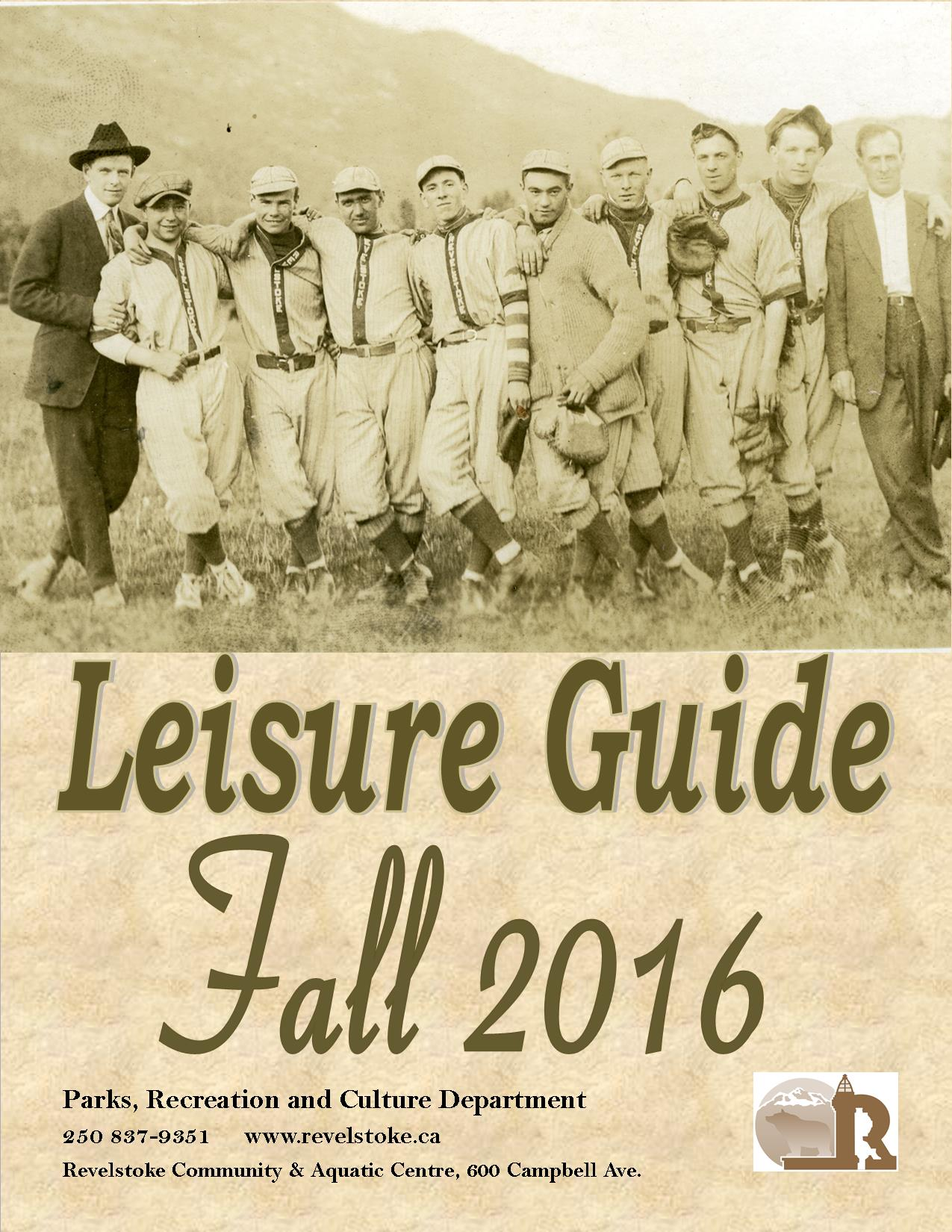 Fall Leisure Guide